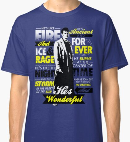 Fire and Ice and Rage  Classic T-Shirt