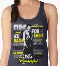 Fire and Ice and Rage  Women's Tank Top