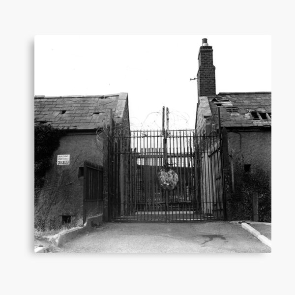 Gates of the Magazine Fort, Phoenix Park Canvas Print
