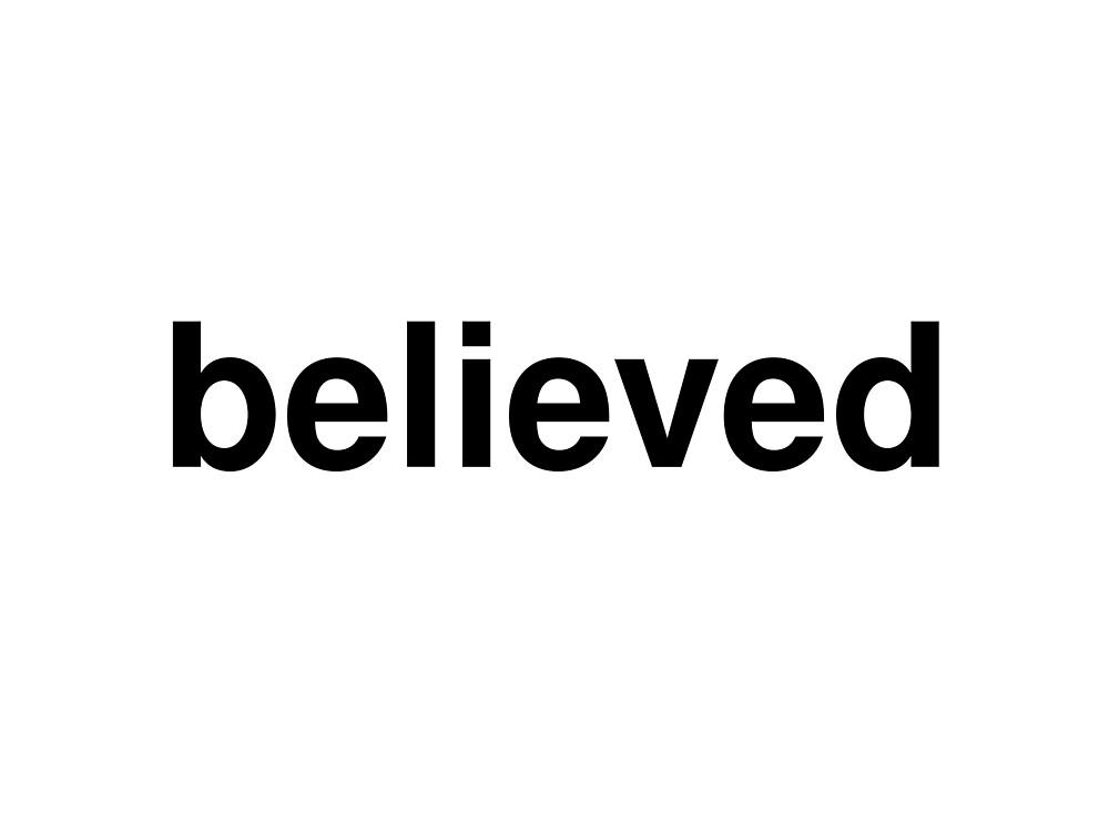 believed by ninov94