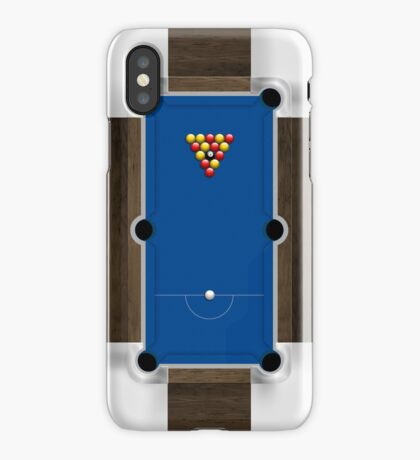 Mini Pool Table iPhone Case