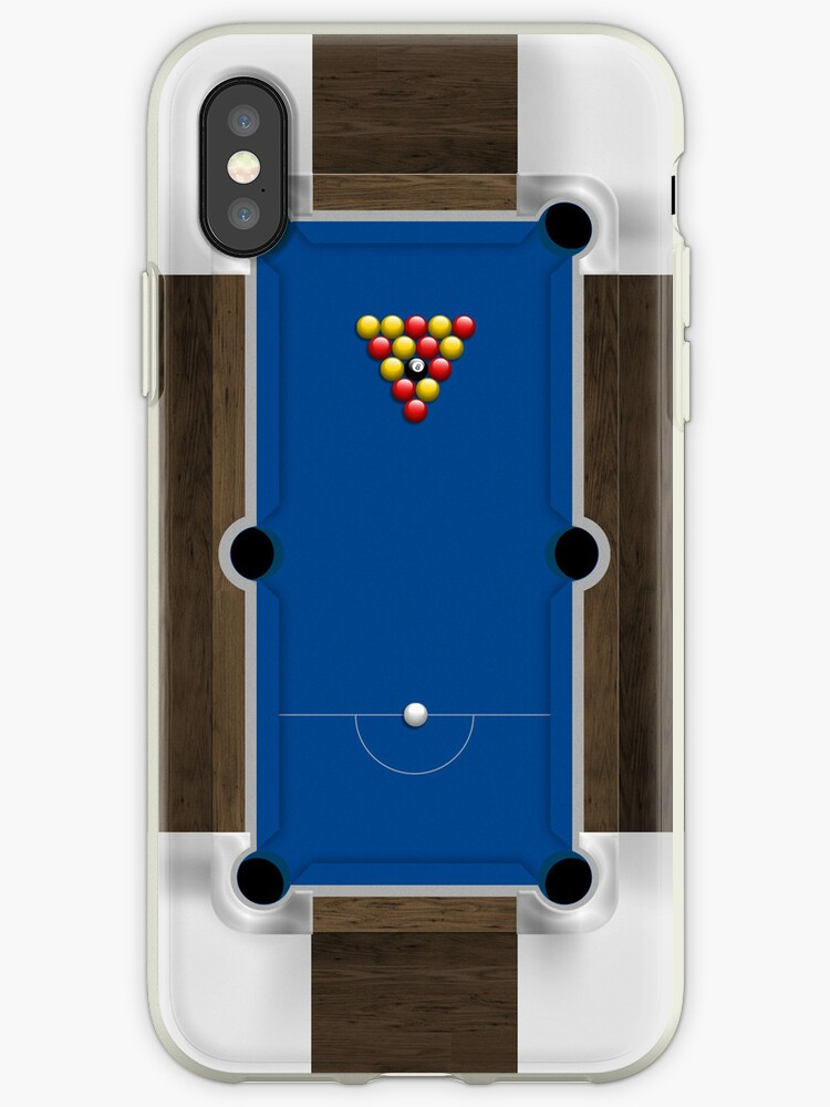 Mini Pool Table IPhone Cases Covers By Abinning Redbubble - Pool table pad