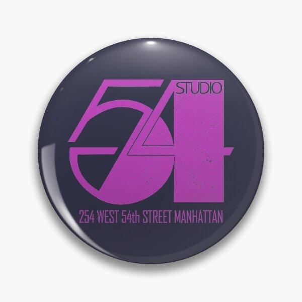 Studio 54 (design vintage en détresse) Badge