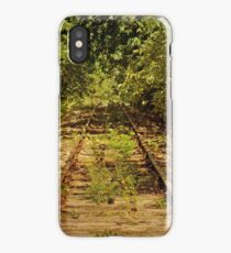 Old, Rusty Railroad Tracks iPhone 4 case iPhone Case