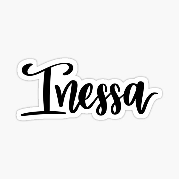 Inessa  Sticker