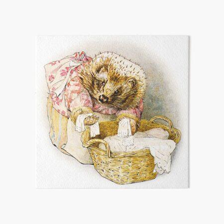 Mrs. Tiggy WInkle - Beatrix Potter Art Board Print