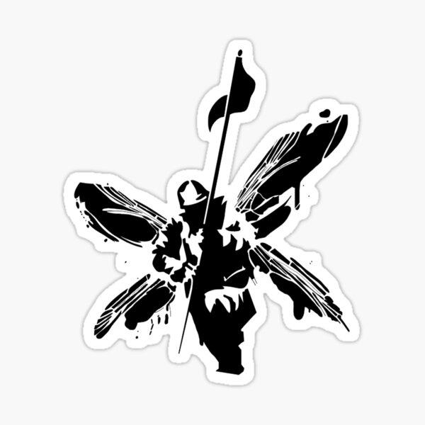 Hybrid Theory Soldier Sticker