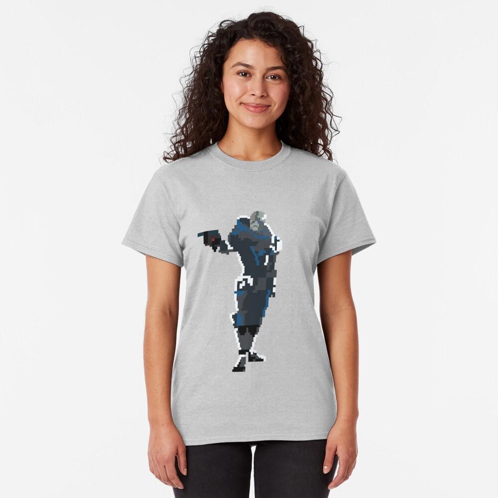 Retro Garrus Vakarian Classic T-Shirt