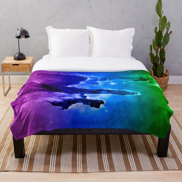 Eagle Nebula MC Throw Blanket