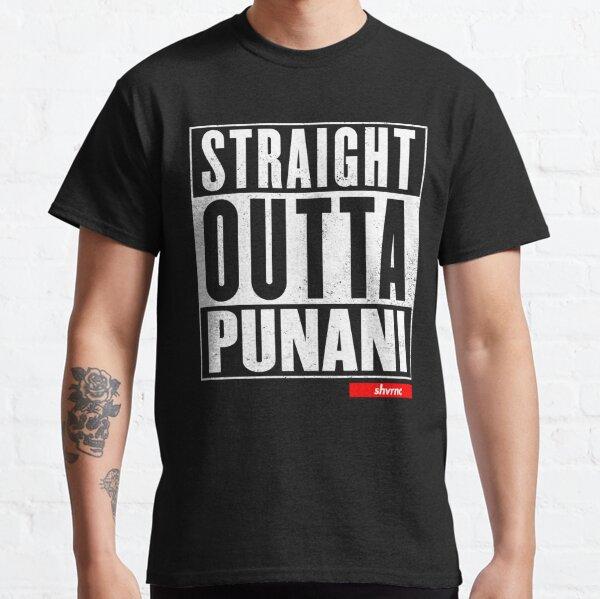 Straight Outta Punani (white) Classic T-Shirt