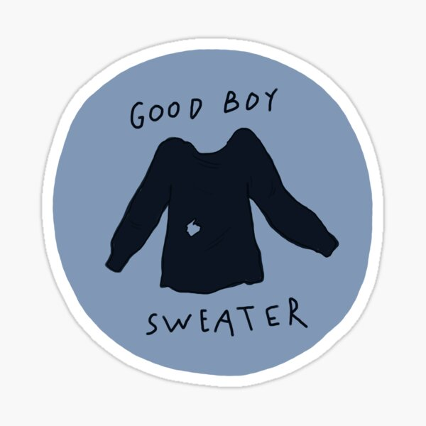 Good Boy Sweater Sticker