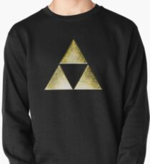 Force of three, golden version Pullover