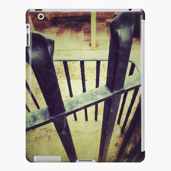 Palm Beach House and Fence vintage look iPad Snap Case