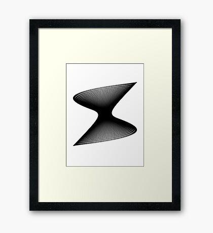 Lissajous XIV Framed Print