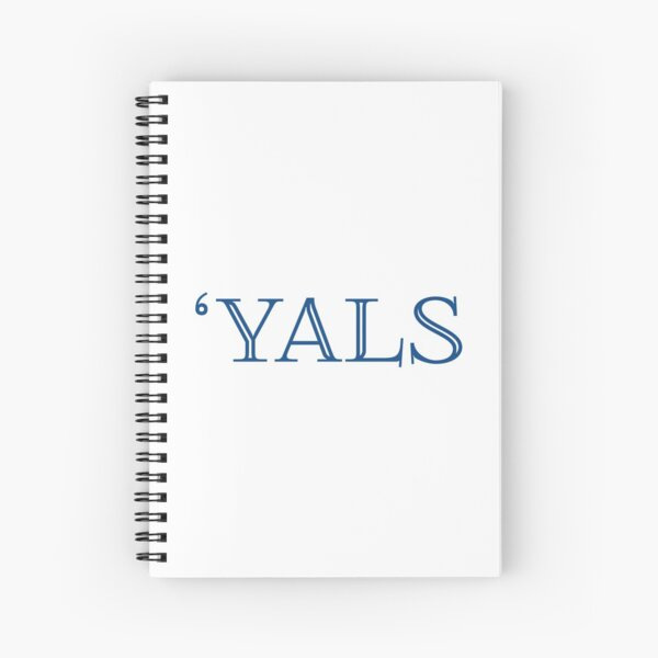 Yals/ Baseball Design Spiral Notebook