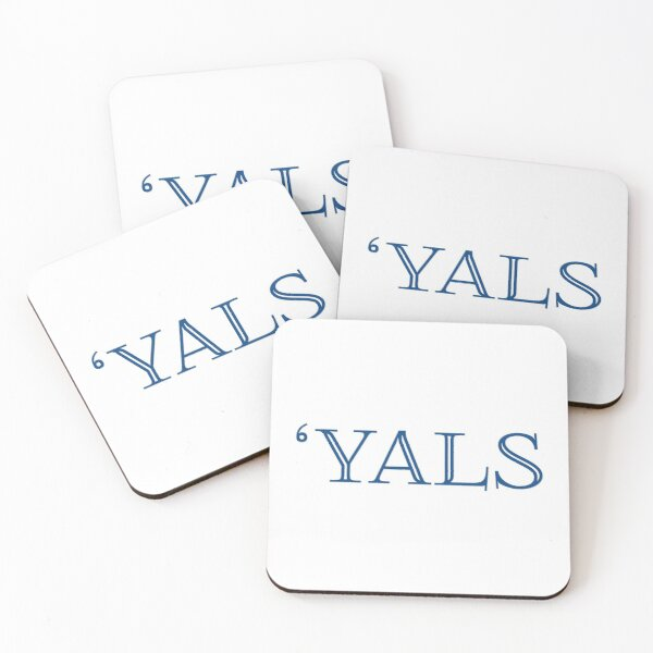 Yals/ Baseball Design Coasters (Set of 4)