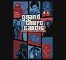 Grand Theft Tardis - City of London