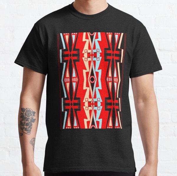 Anishinaabe Red Line Art 1 Classic T-Shirt