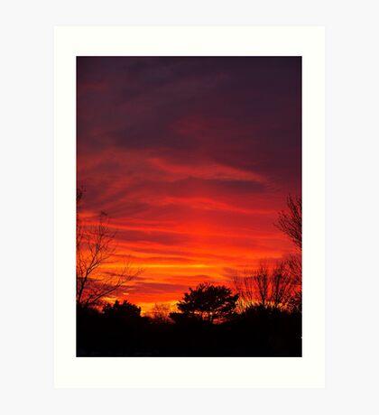 Nebulous Skies Art Print