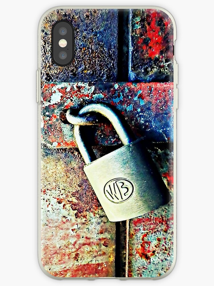 Lock Up Your Phone! - phone case by Scott Mitchell