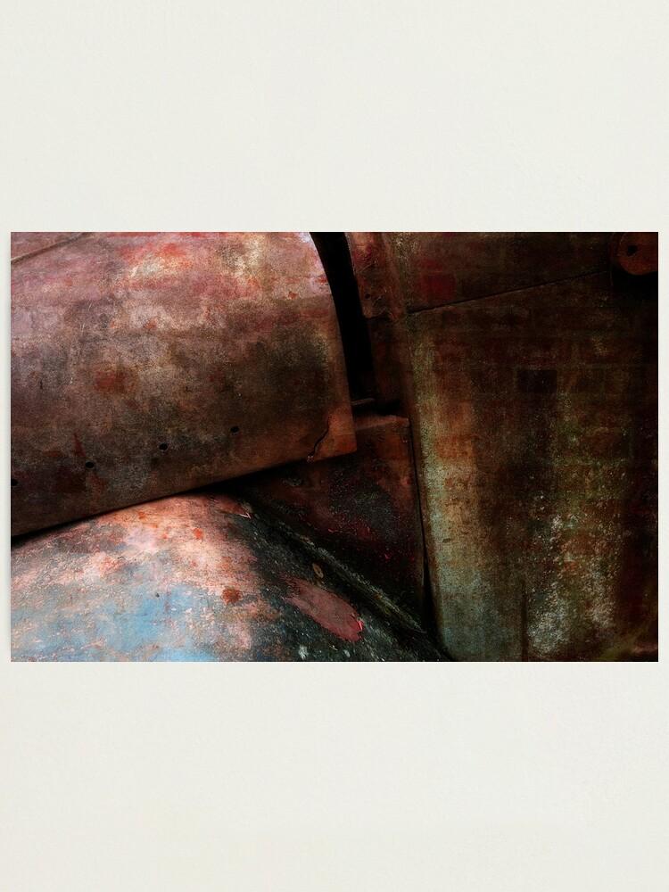Alternate view of Rusty Truck Photographic Print