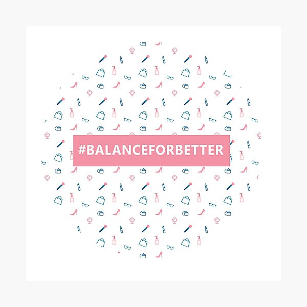 Balance For Better Pattern Photographic Print