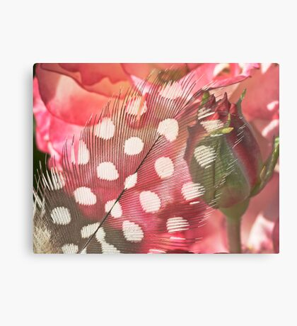 Hidden Pink Metal Print