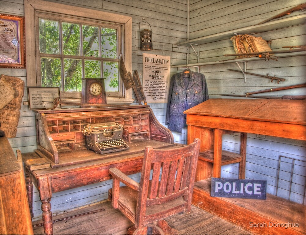 The Police Station by Sarah Donoghue