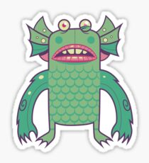 Black Lagoon Monster's Ugly Brother Sticker