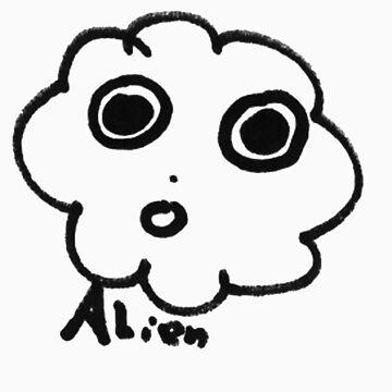 Cloud comic - Alien by loc123