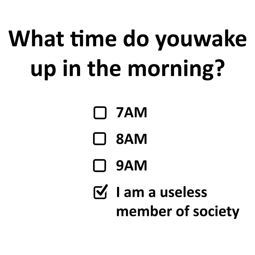 When do you wake up? by Gary Cunningham