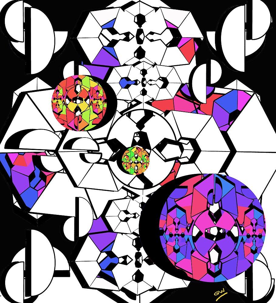 Geometric Colour Construction 2 by Grant Wilson