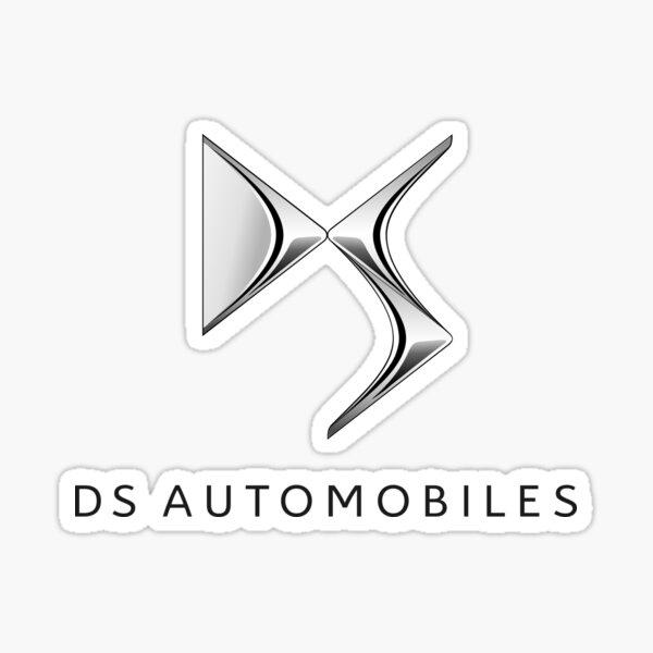 DS Automobiles Logo in Black Sticker