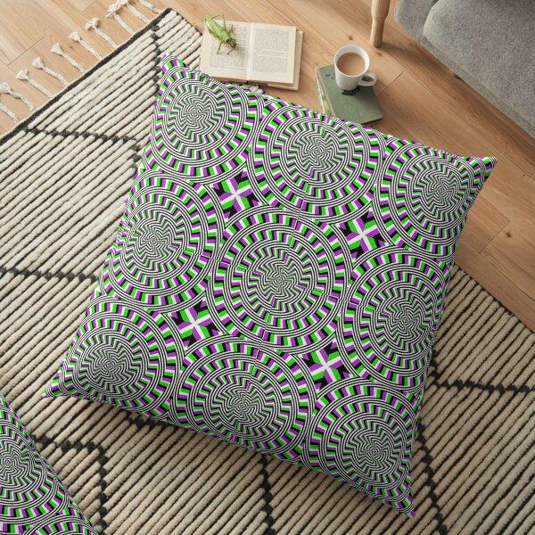 Circle, 2D shape Floor Pillow