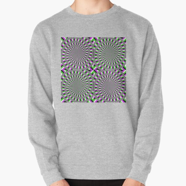 Circle, 2D shape Pullover Sweatshirt