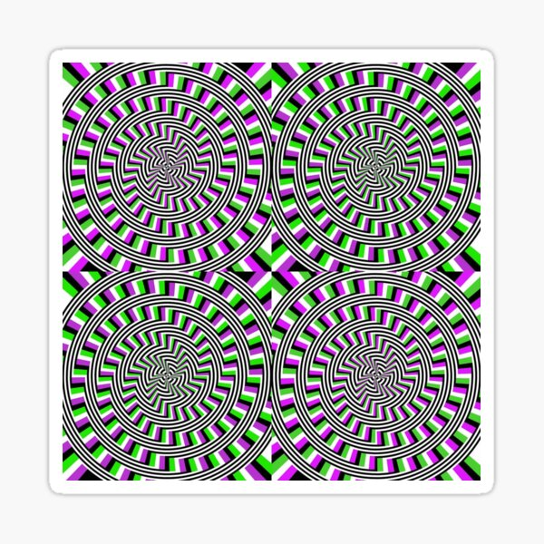 Circle, 2D shape Sticker