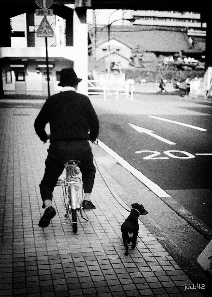 Man & Dog by jdcb42