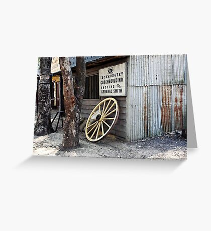 Old Tin Shed .  . . . rusted  Greeting Card