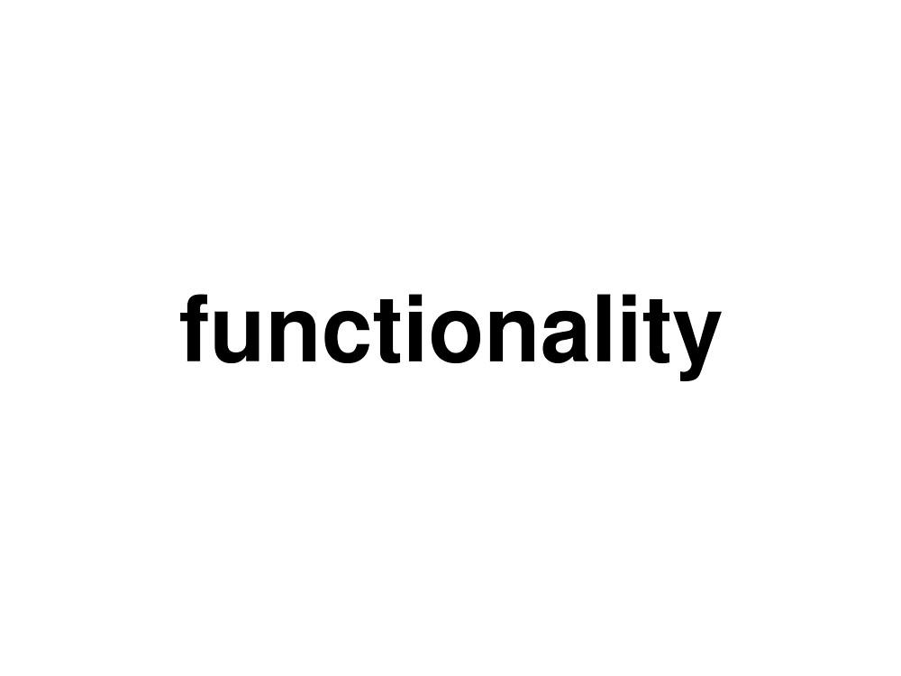 functionality by ninov94