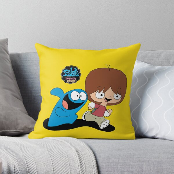 Mac and Bloo - Fosters Home for Imaginary Friends Throw Pillow