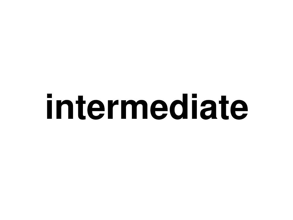 intermediate by ninov94
