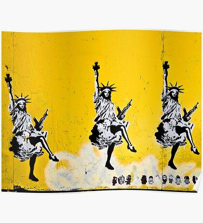 Dancing Liberty  Poster