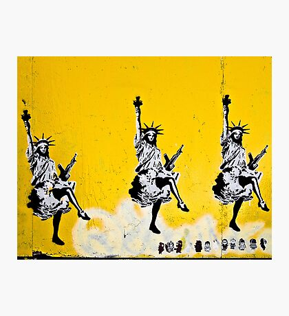 Dancing Liberty  Photographic Print