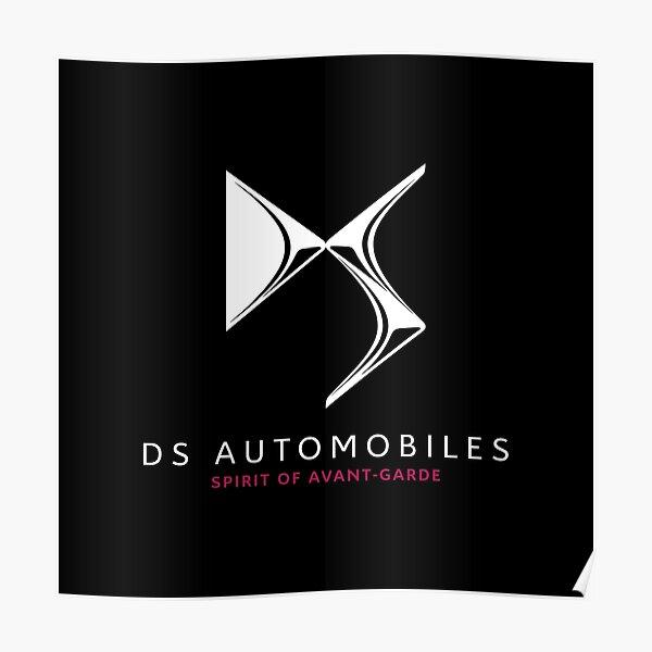 White DS Automobiles - Spirit of Avant-Garde Poster