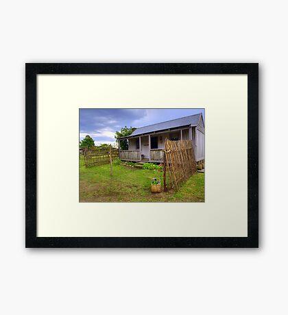 Mitchell Cottage Framed Print