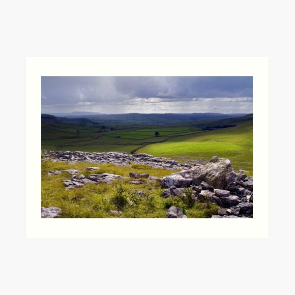 Crummackdale - The Yorkshire Dales Art Print