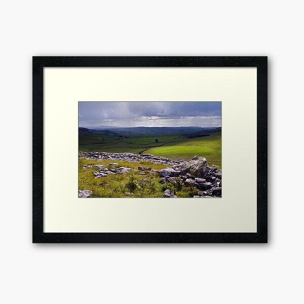 Crummackdale - The Yorkshire Dales Framed Art Print
