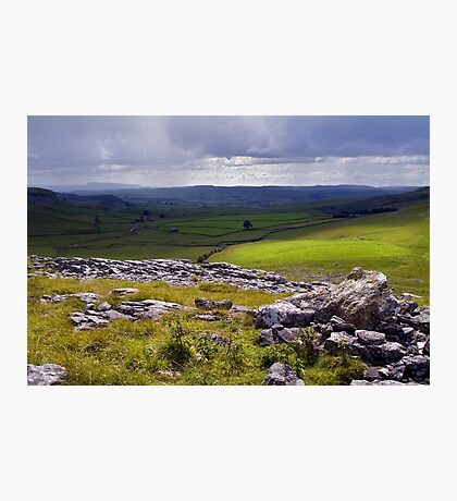 Crummackdale - The Yorkshire Dales Photographic Print