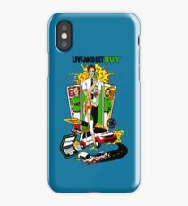 Live and Let Buy iPhone Case