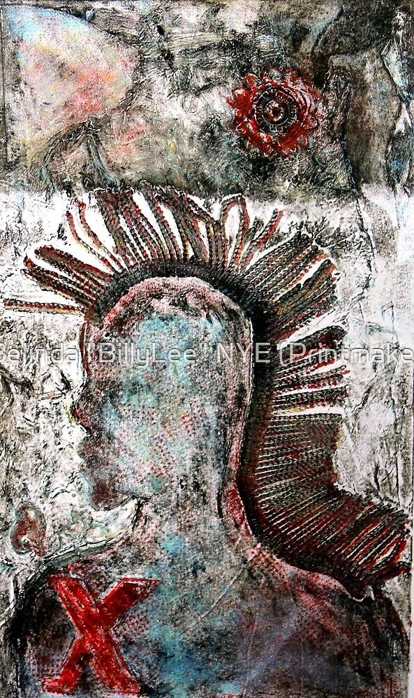 """Transformation Me Now by Belinda """"BillyLee"""" NYE (Printmaker)"""